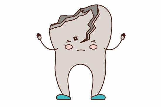 molare spezzato cause rimedi